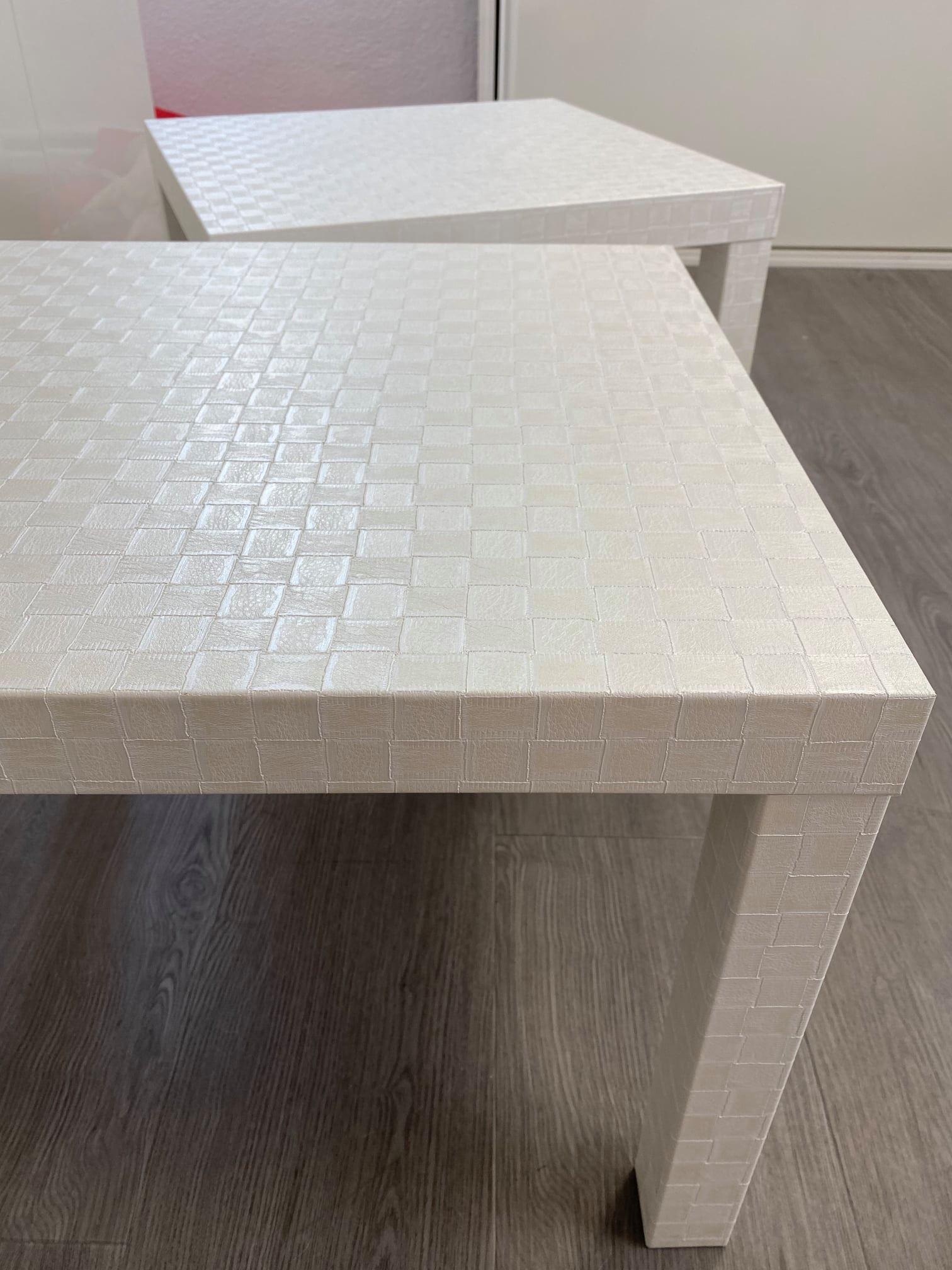 Rénovation de Tables Basses